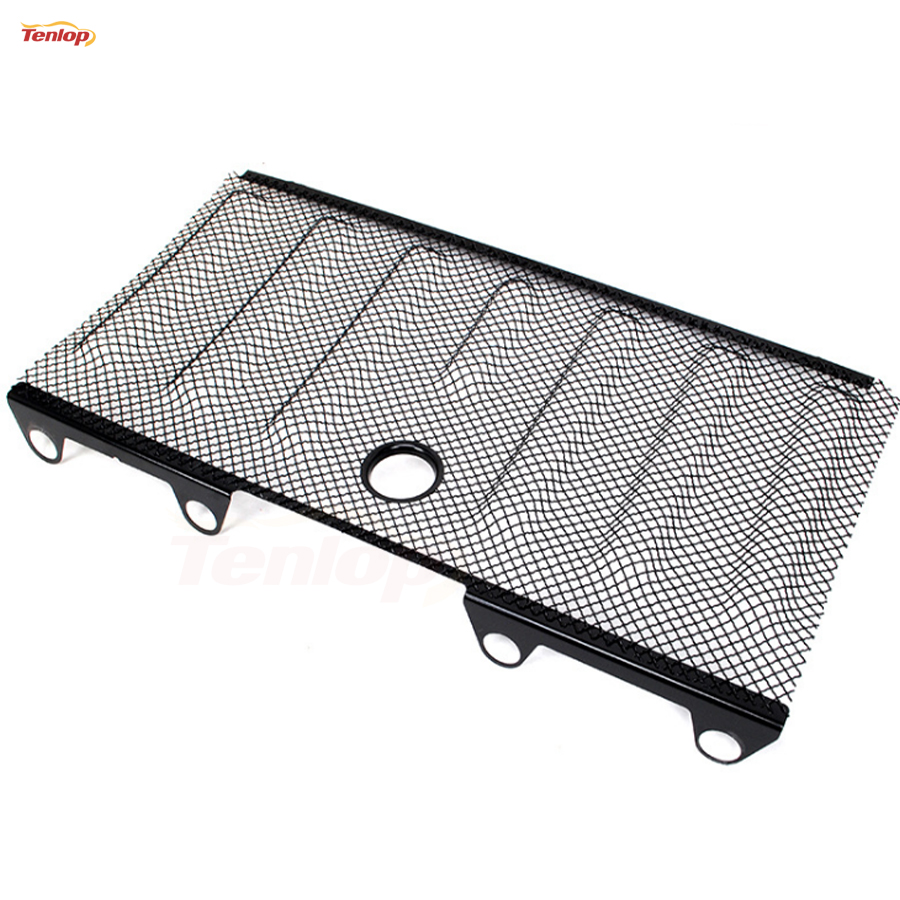 Car Styling Black 3D Bug Screen With Key Hole For Wrangler JK 07-15 for wrangler rubicon sahara jk 2007 2016 car styling auto metal 3d mesh grill insert cover hood with lock hole car accessorie