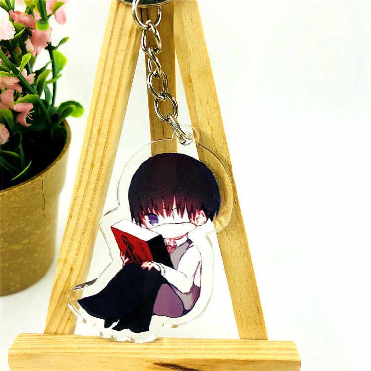 Anime Tokyo Ghoul Gantungan Kunci Kartun Jepang Mooyen Kim Tas Dekorasi Mobil Gantungan Kunci Rantai Gantungan Kunci Liontin Perhiasan
