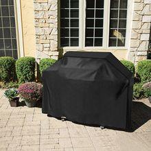 Большая внешняя искусственная газовая сверхмощная Накладка для домашнего внутреннего дворика, садового хранения, водонепроницаемая накладка на гриль для барбекю, аксессуары для барбекю