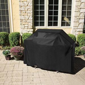 Image 1 - Große Größe Outdoor BBQ Grill Abdeckungen Gas Heavy Duty für Home Terrasse Garten Lagerung Wasserdichte Grill Grill Abdeckung BBQ Zubehör