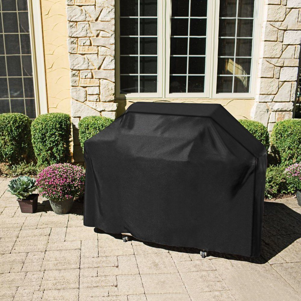 Large Size Outdoor BBQ Grill Covers Gas Heavy Duty for Home Patio Garden Storage Waterproof Barbecue Grill Cover BBQ Accessorie-in All-Purpose Covers from Home & Garden