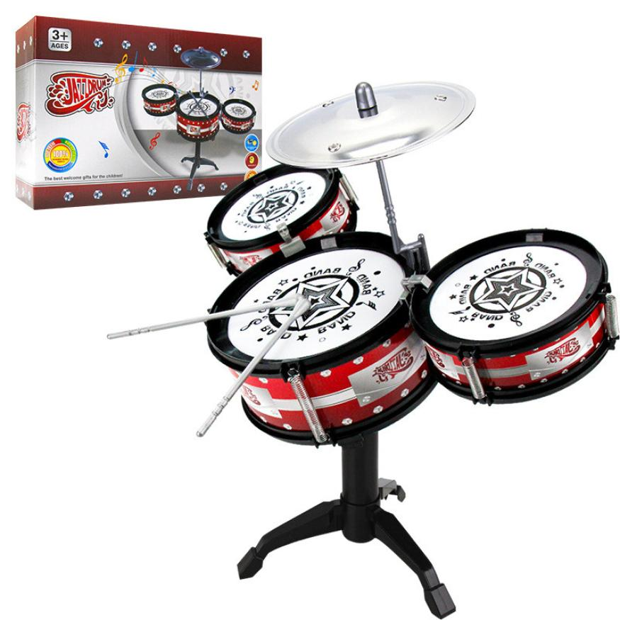 2018 New Wireless Instrument Toys for Girls boy Baby Classical Jazz Drum Drum Children Musical Birthday Present Kids Party Song