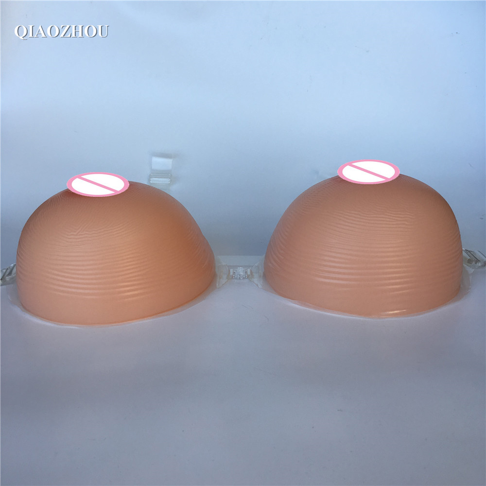 2400g FF G cup sexy crossdresser silicone breast prosthesis artificial breasts form with bra straps drop shipping wholsale купить
