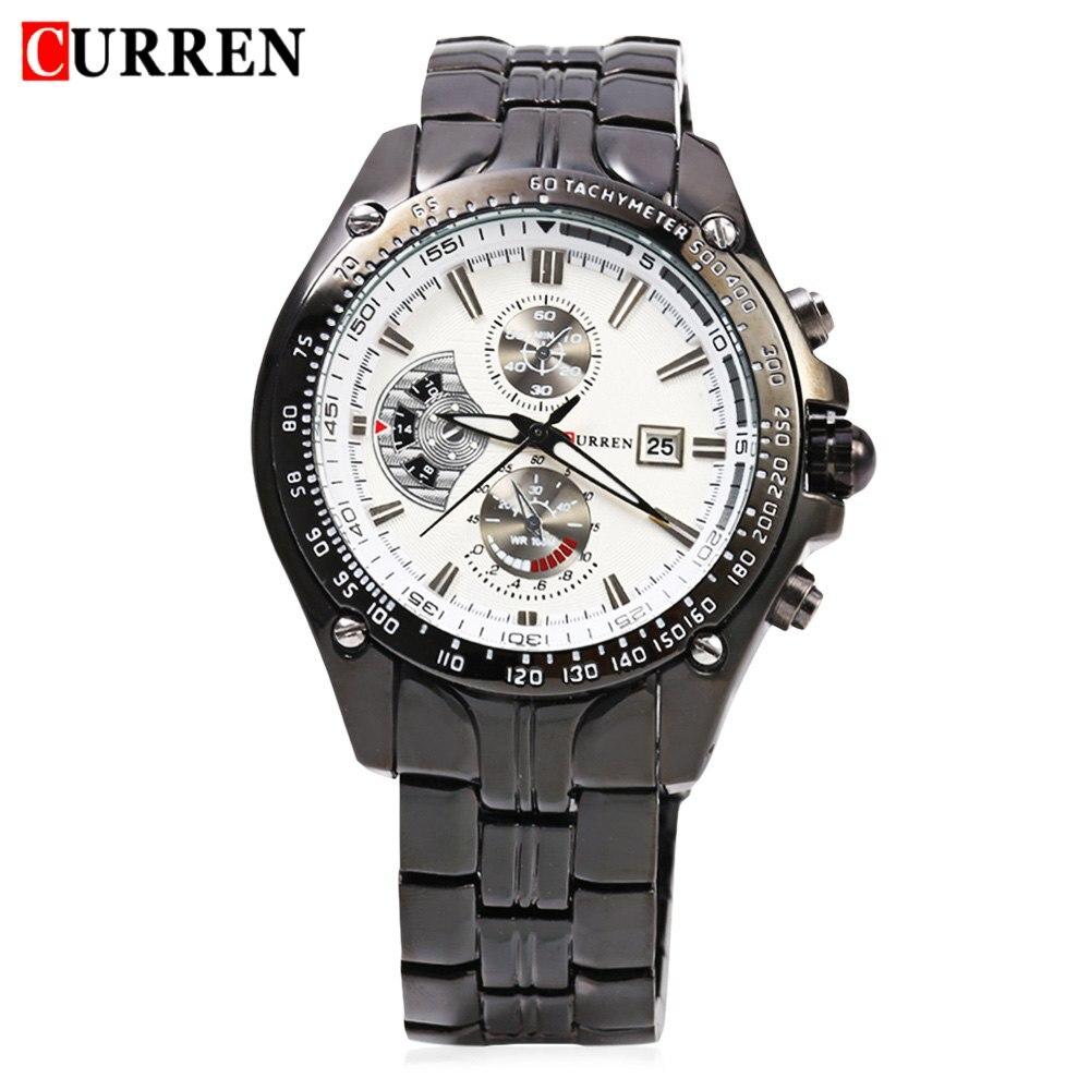 2018 New Curren 8083 Horloges Heren Luxe Merk Militaire Heren horloge - Herenhorloges - Foto 2
