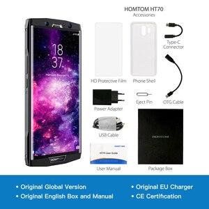 Image 5 - הגלובלי גרסה HOMTOM HT70 10000mAh 4GB 64GB נייד טלפון 6.0 אינץ אוקטה ליבות 13MP מול 16MP + 5MP כפולה אחורי מצלמות טביעות אצבע