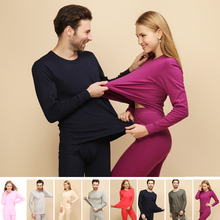 Winter Cotton Thermal Underwear Sets For Women Warm Layered Clothing Pajamas Thermos Male Long Johns Second Thermal Female Skin women winter thermal underwear suit ladies thermal underwear women clothing female long johns women clothing x
