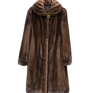 Image 3 - 2020 Faux Mink Fur Coat Women Winter New Fake Fur Coats For Women Long Artificial Fur Imitation Fur Jackets Plus Size 6Xl X935