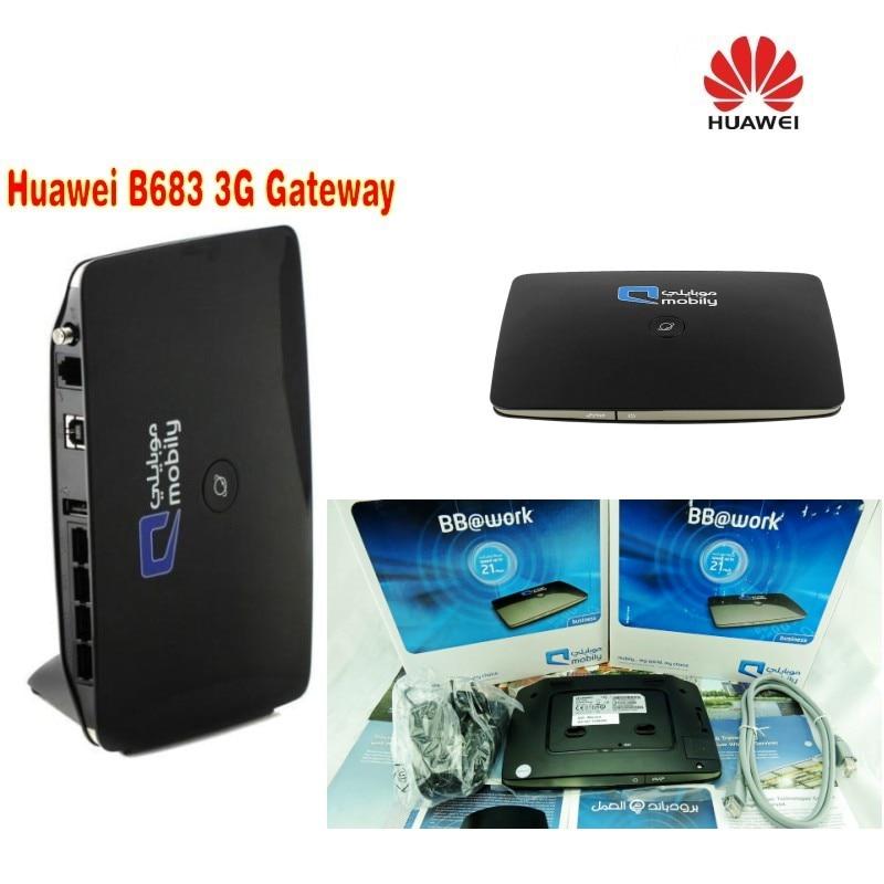 Huawei B683 3G wireless router WPS USB HSPA+ Wireless router
