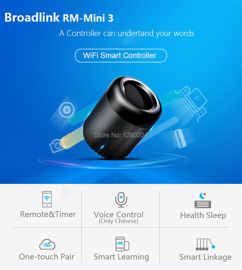Broadlink RM Pro RM3 2018 Nouvelle Version RM Mini 3 Universel Intelligent IR + RF + Wifi À Distance Contrôleur Pour Ios Android Smart Home 24