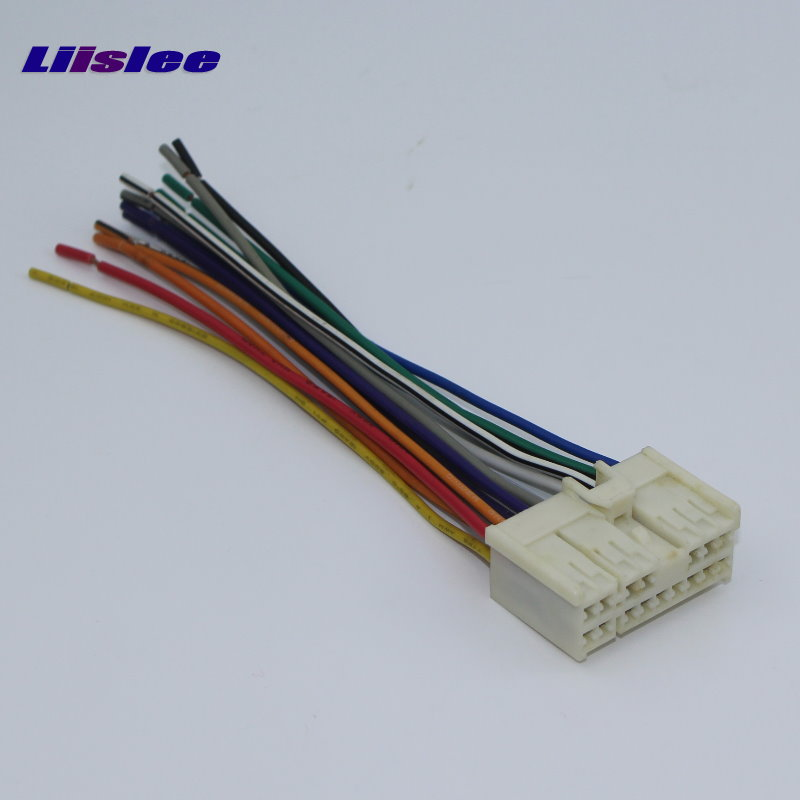 Liislee Car CD DVD Player Power Wire Cable Plug For Hyundai Elantra ...