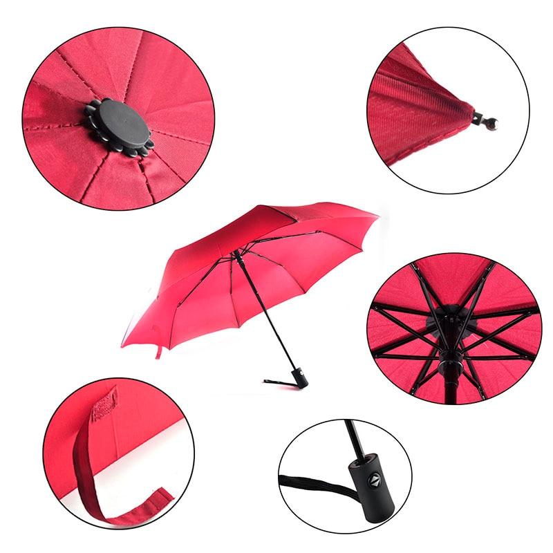 مد کاملاً اتوماتیک سه چتر تاشو - کالاهای خانگی