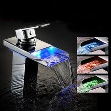 Hansa Latrava кран меди контроль температуры из светодиодов обесцвечивание горячая и холодная бассейна кран
