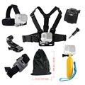 Аксессуары комплект Для Gopro hero 5 Действий камеры Грудь Глава Ремень для Go pro SJCAM SJ4000 4 К Монопод Плавающей Bobber Гора 39
