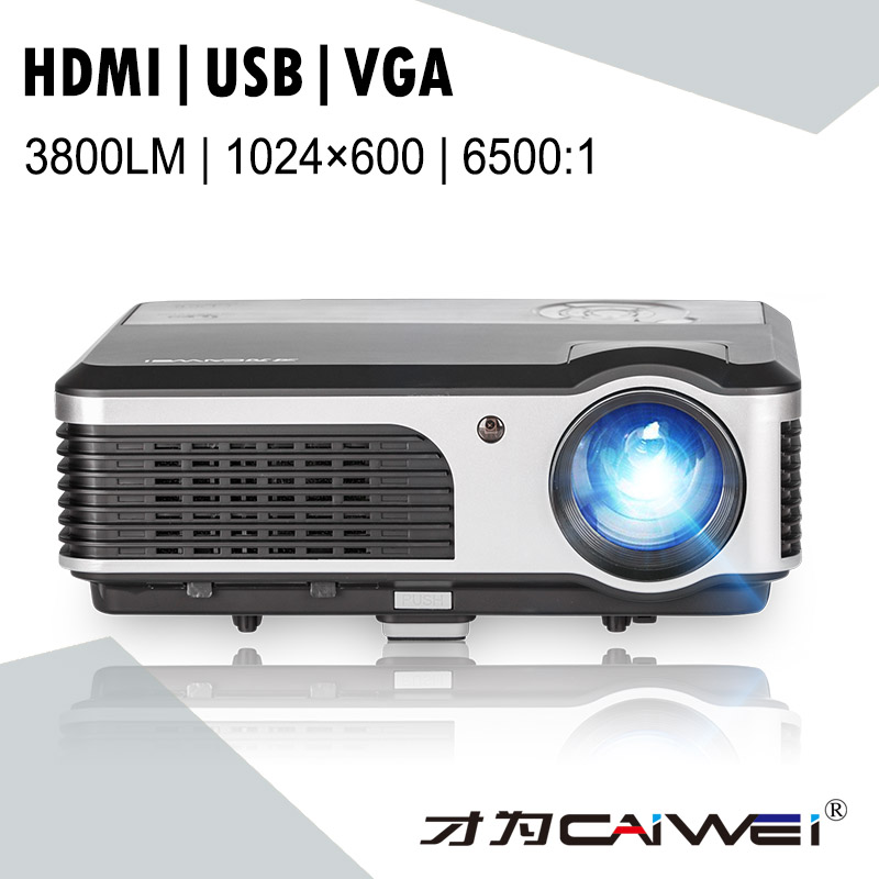 Caiwei Digital Led Projector Home Theater Beamer Lcd: CAIWEI LCD LED Home Theatre Projector Home Cinema HD 1080P