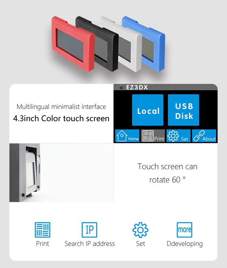 Zorth C55 LCD screen 2