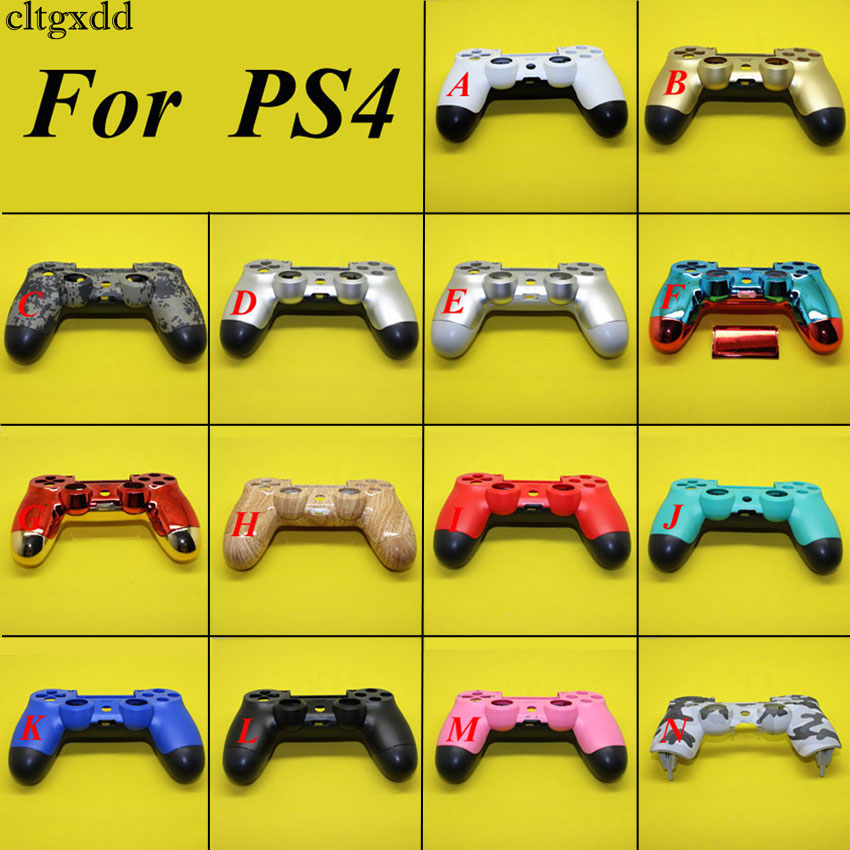 Cltgxdd 16Color Whole Housing Shell For Sony PS4 For Playstation 4 Wireless Controller Replacement