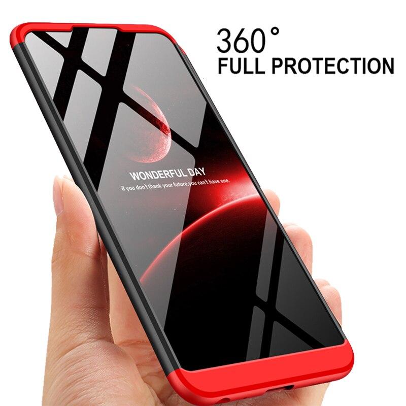 3-in-1 360 Full Protection Case Asus Zenfone Max Pro M2 ZB631KL Pro M1 ZB602KL Back Cover Matte Case Asus ZB631KL 631KL ZB 631KL