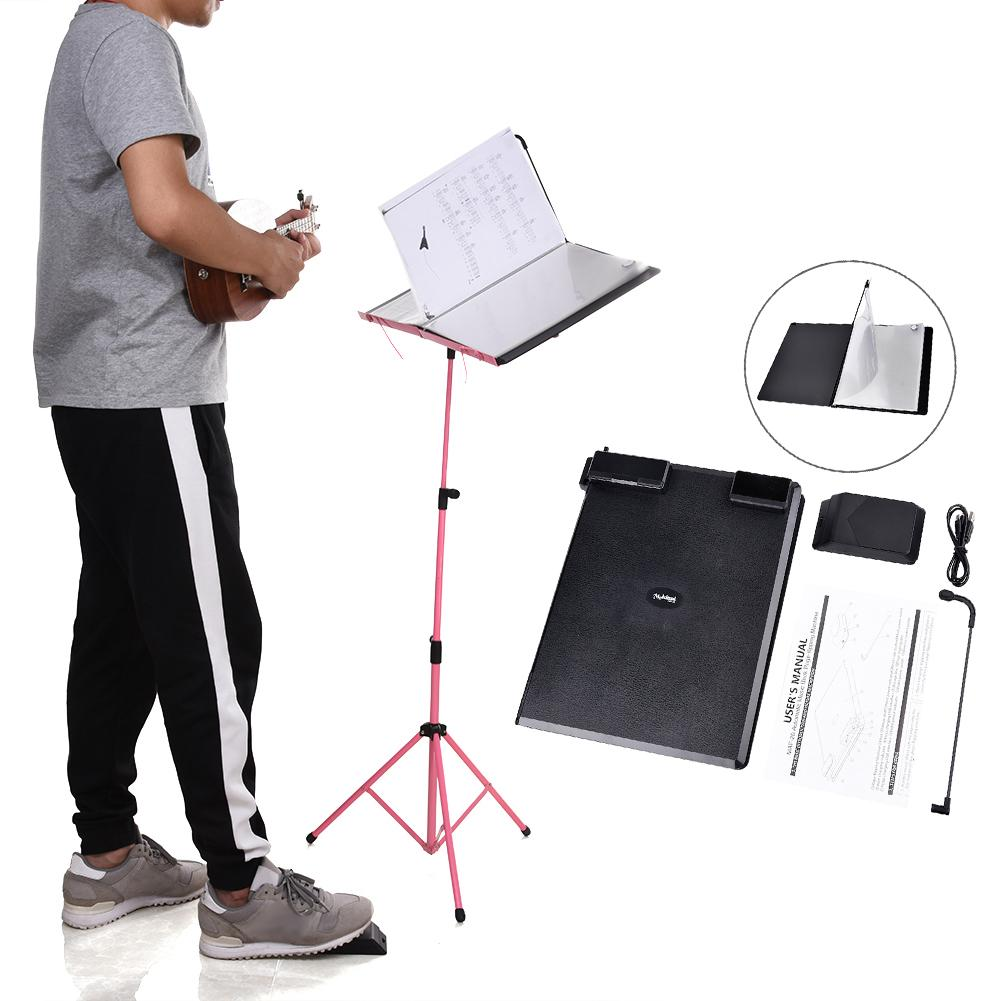 Musical Instruments Automatic Music Score Book Page-flipping Machine Music Sheet Auto Page Turning Tools носки низкие toy machine turtle ankle page 1 href