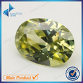 Oval Shape 50Pcs Black Olive Color 5A  CZ Stone 3x5-10x12mm Synthetic Gems Cubic Zirconia For Jewelry