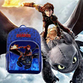 HOW TO TRAIN YOUR DRAGON Toothless Night Fury Backpack School Book Shoulder Bag