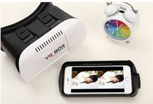 2016 Google Cardboard VR BOX Pro Version VR Virtual Reality 3D Glasses +Smart Bluetooth Wireless Mouse/Remote Control Gamepad