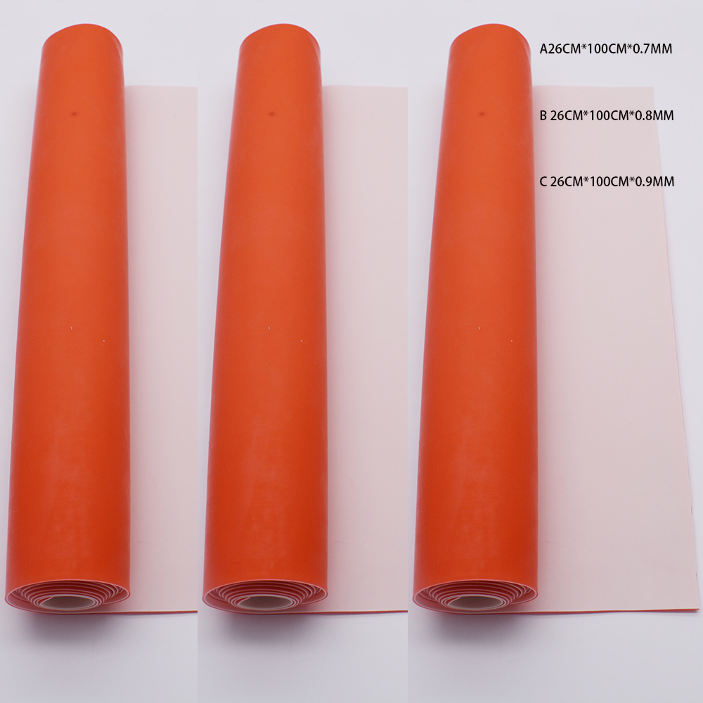 Anti Cold slingshot band replacement 26cm*100cm*0.8mm  flat rubber band for slingshot can be used cold whether