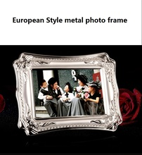 European metal photo frame romantic gift decoration photo frame metal photo frame настенные фотокартины connaught photo frame