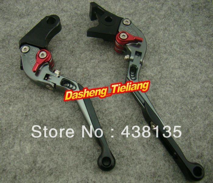 ФОТО Foldable Motorcycle Brake Clutch Levers For 1991-2007  600F2 600F3 600F4 600F4i 1993-1999 CBR900RR.