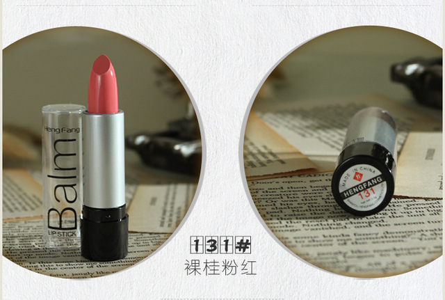 1pcs Maquiagem Famous Brand Korea Makeup Full Size Baby red Lipstick For Women Lips Make Up Health Waterproof