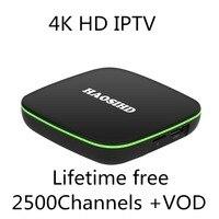 Iptv italia android tv box Бесплатная iptv подписки для бесплатных каналов приставка 4 K HD Европа Америка Африка Франции, Испании tv box android 7,1