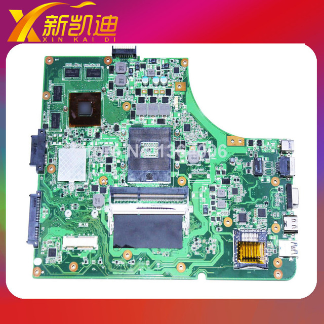 K53SV материнская плата Для Asus K53SM A53S X53S материнская плата ноутбука 8 памяти mainboard rev 3.0, 3.1, 2.1, 2.3 GT540M 100% тестирование