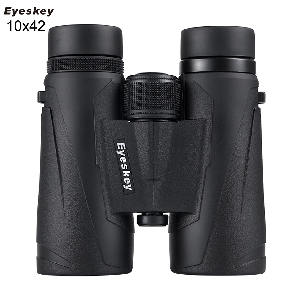 Eyeskey 10x42 Portable Binoculars Camping Hunting Telescope Waterproof Night Vision Tourism Optical Outdoor Sports baigish fmc 8x40 hd waterproof portable binoculars telescope hunting telescope tourism optical outdoor sports eyepiece