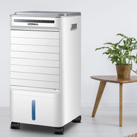 Household small air cooler movable air conditioning 220V electric fan refrigeration air conditioning purification humidification