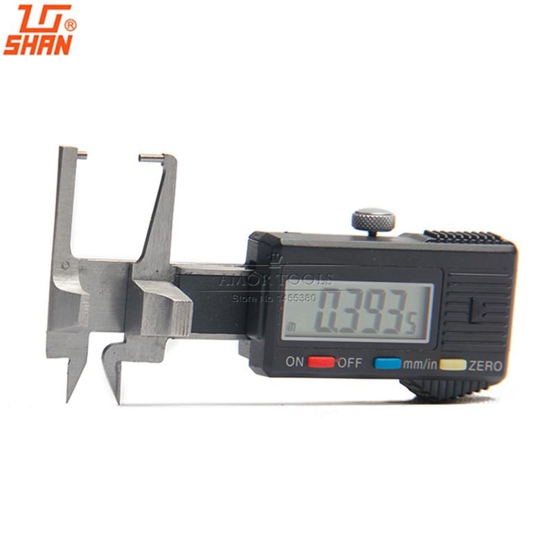 SHAN Digital Diamond GEM Gauge 0-20mm/0.01 Inch/MM System Mini Caliper Micrometer Measuring Tools jigu air 13 a1369 mc504 a1377 a1405 a1466 mc965 mc966 md231 md232 laptop battery