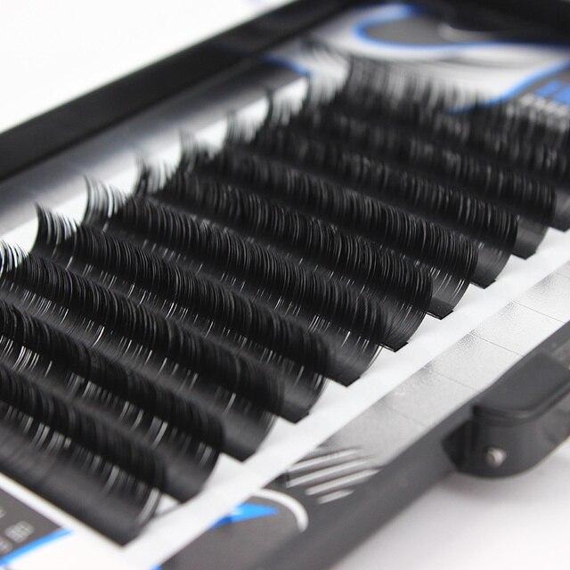 da62149d04b 0.10 / 0.15 Thickness J B C Curl All Size Fragrance Silk Protein Fiber  False Eyelashes Diamond Cut Craft Lashes