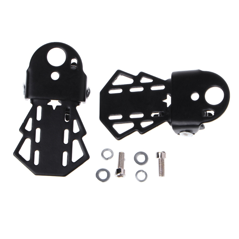 1 Pair Bike Rear Foot Pedal Mountain Bicycle Back Seat Thickening Accessories
