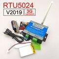 2019 Version RTU5024 3G/GSM relais sms anruf fernbedienung tor öffner schalter und Batterie für stromausfall alarm-in Zugangs Control Kits aus Sicherheit und Schutz bei