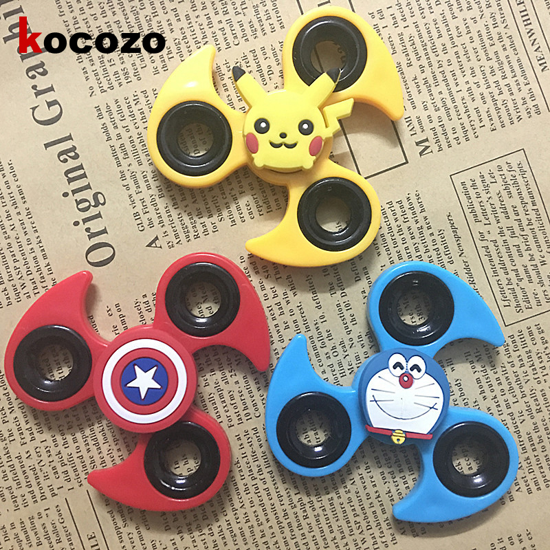 Fidget Spinner Finger ABS EDC Hand Spinner Tri For Kids Autism ADHD Kinds Of Styles Anxiety