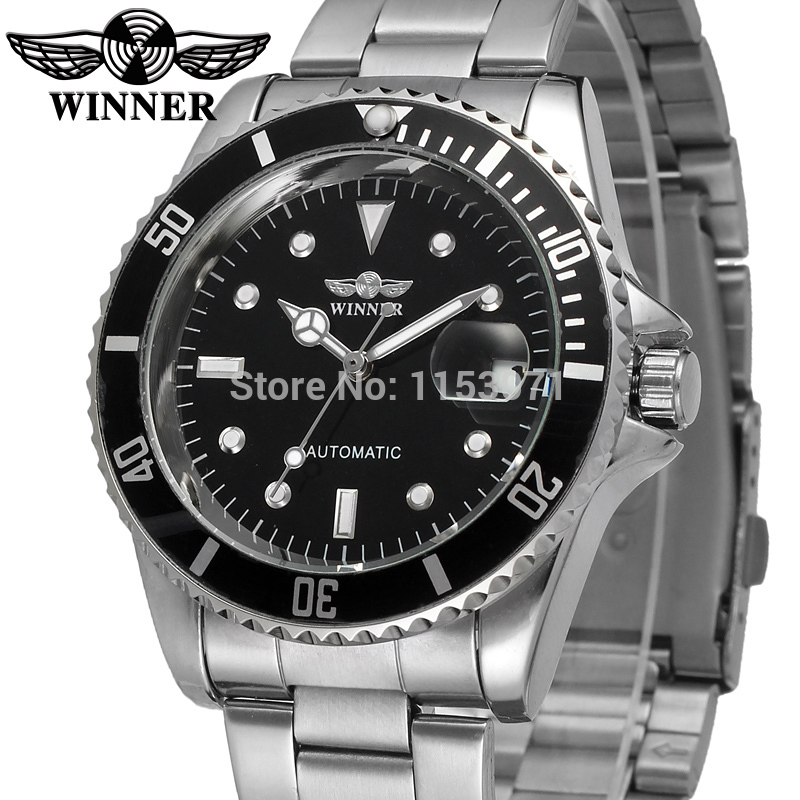 online buy whole watch company men from watch company wrg8066m4t1winner new automatic men white color dress watch factory company stainless steel bracelet shipping