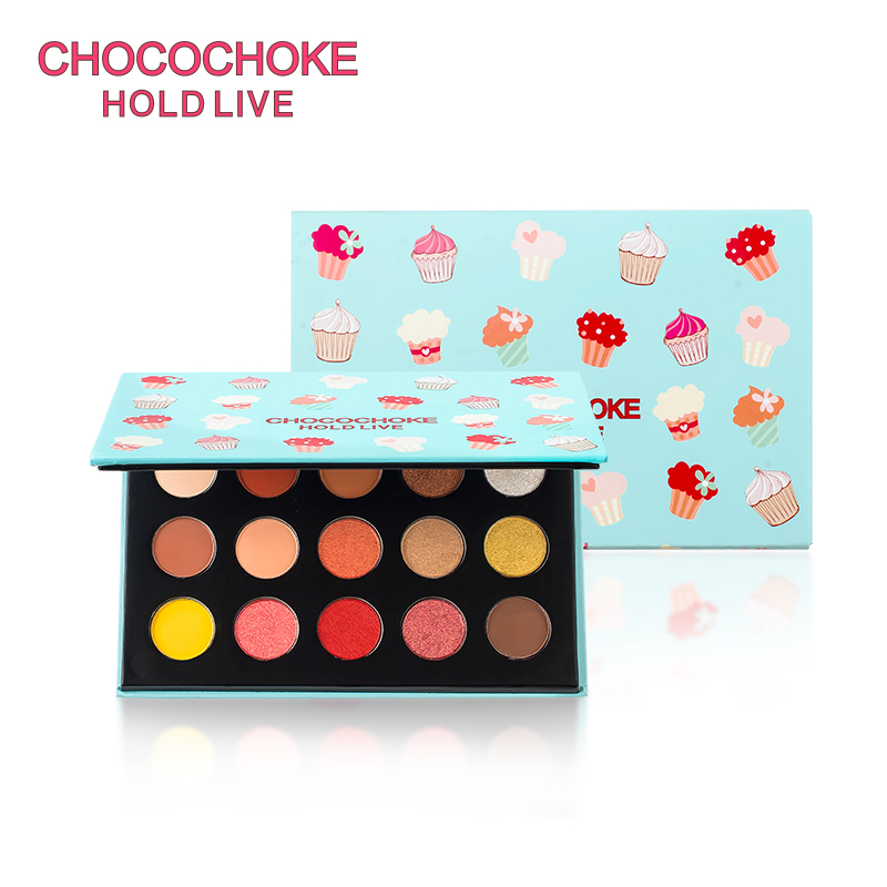 HOLD LIVE Glitter Eyeshadow Pallete Make up Matte Shimmer Eye Pigment Shadow Palette Cosmetic Makeup Pro 15 Colors Eyeshadow Set de lanci newest 35 colors shimmer matte eye shadow professional makeup eyeshadow palette beauty make up set