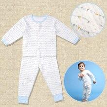 I-baby Premium Matelasse PIMA Детская Хлопковая одежда комплект кашемировый хлопковый комбинезон с длинными рукавами для новорожденных Набор комбинезончиков