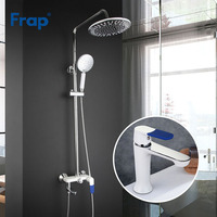 Frap ванная комната смеситель для душа набор бассейна смеситель для душа смесителя для ванной смесители для душа водопад насадки torneira F2434 наб