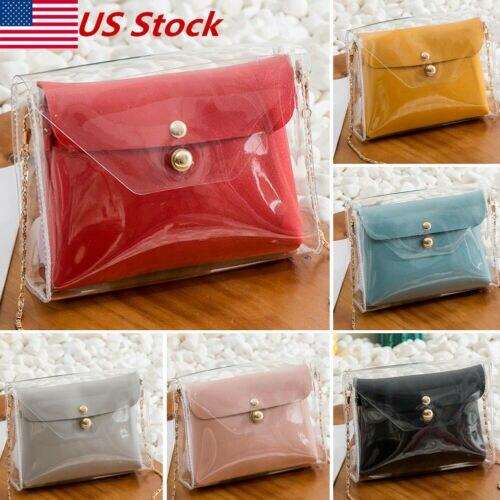 Purse Fashion Women Bags Messenger Wallet Ladies Crossbody Novelty S-Bag Solid