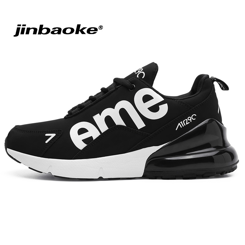 New Men's Sneakers Breathable Black Air Cushion Running Shoes for Men Outdoor Lightweight Jogging Athletic Sport Shoes Size39-46