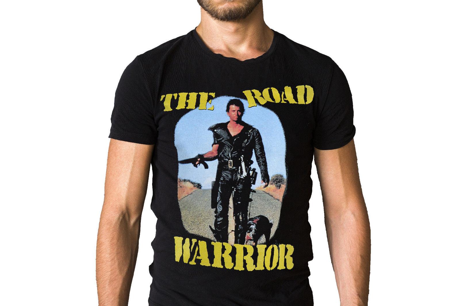 Mad Max 2 The Road Warrior T-Shirt Short Sleeves Cotton Free Shipping MenS T-Shirts Summer Style Fashion Swag Men T Shirts