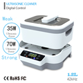 Fission Machine Dual Touch Screen Sterilizer Pot Salon Nail Tattoo Clean Metal,Watches,Gem Ultrasonic autoclave Cleaner Tool