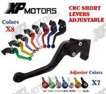 ЧПУ Короткие Регулируемые Тормозные Рычаг Сцепления Для Suzuki GSX-R600 GSX-R750 GSXR600 GSXR750 GSXR1000 GSX-R1000