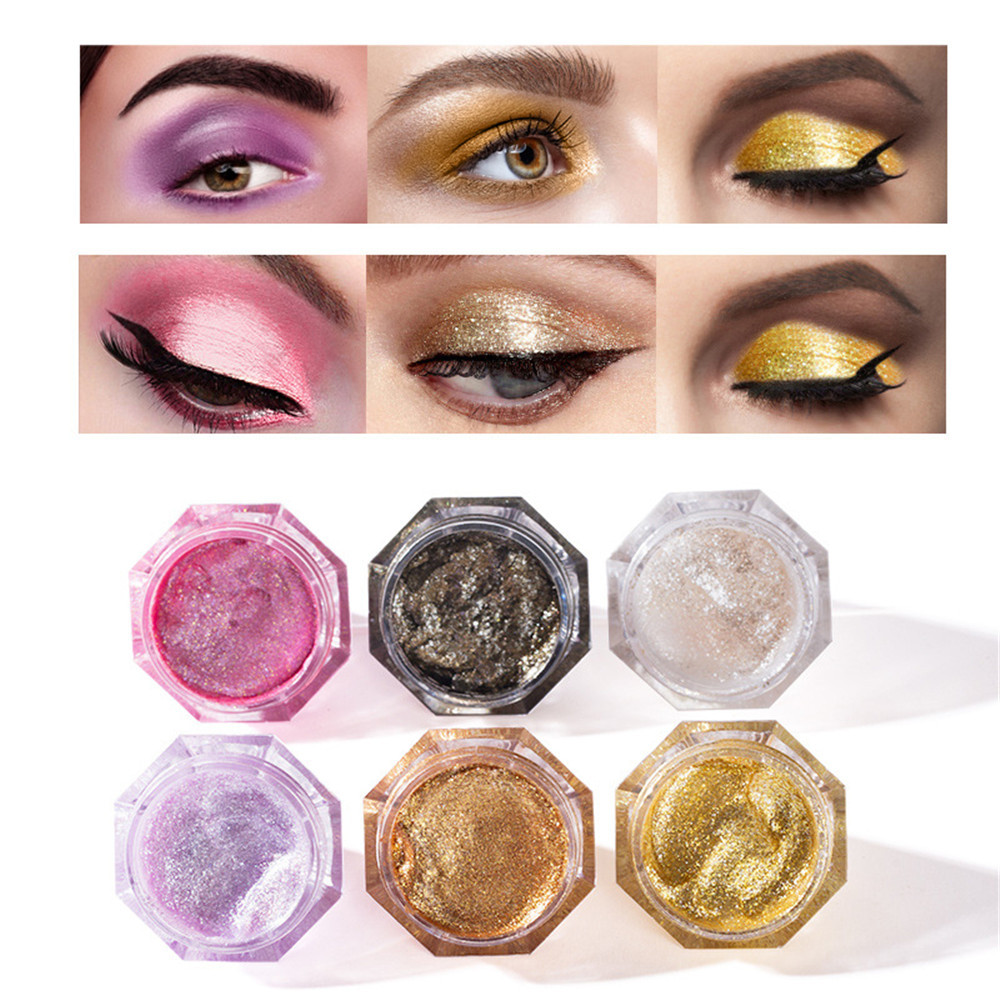 Beauty Essentials Humorous Diamond Crystal Luster Glitter Eyeshadow Cream Pigment Metallic Shiny Holographic Eye Toppers Single Eye Shadow Highlight Makeup Back To Search Resultsbeauty & Health