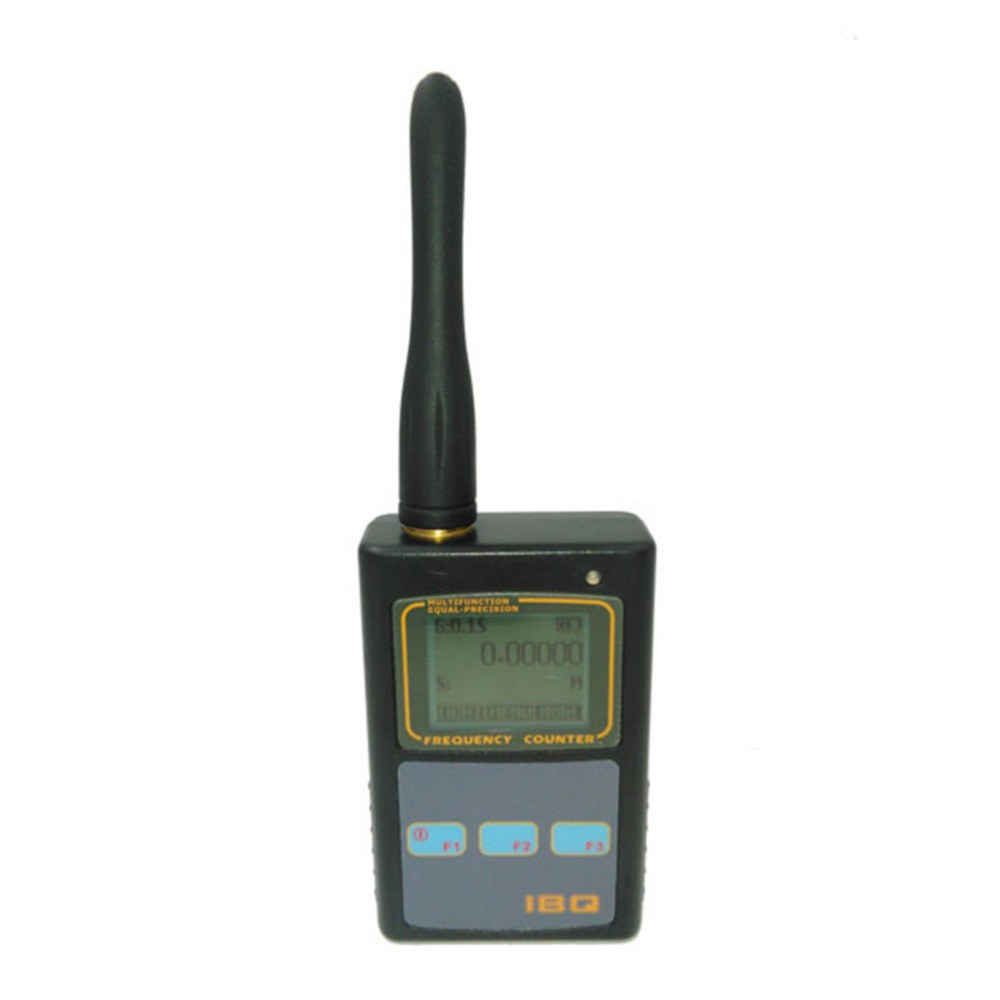 Free Shipping Frequency Counter IBQ 101 Black Mini Handheld Counter for 2 way Radio