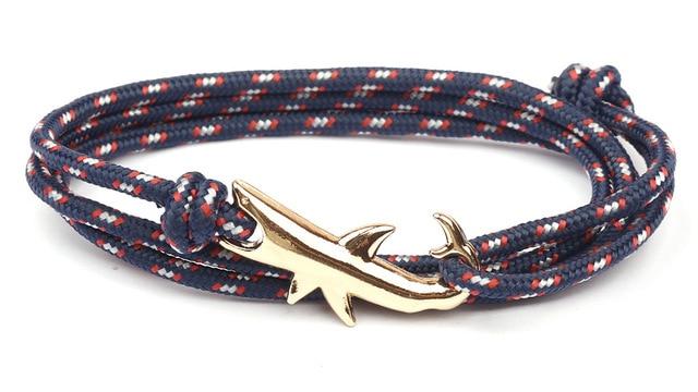 Cool Gold Shark Hook Charm...
